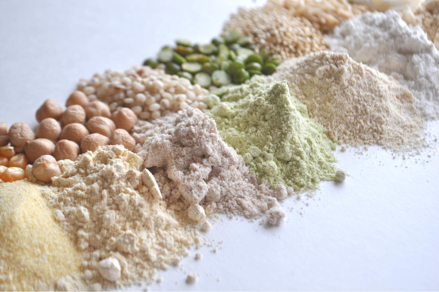 Harinas bajas en carbohidratos - Harina de legumbres