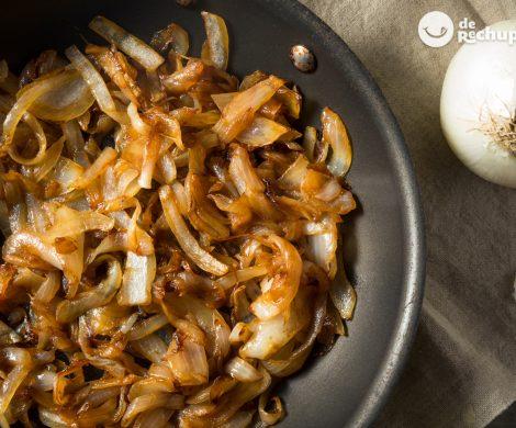 Cómo preparar cebolla caramelizada casera de forma tradicional