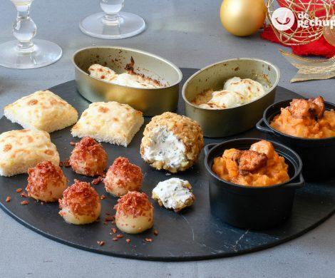 Cinco aperitivos para Navidad que puedes hacer con antelación