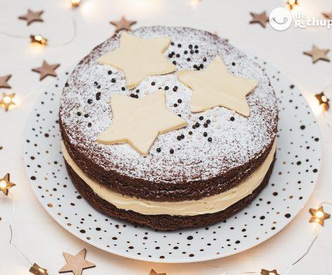 Pastel de Navidad. Una tarta navideña para triunfar en casa