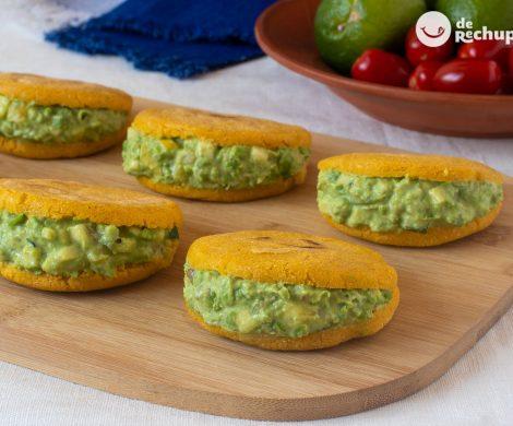 Cómo hacer arepas vegetarianas. Receta saludable para disfrutar de la cocina venezolana