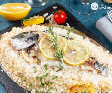 Dorada a la sal. Receta fácil para un pescado jugoso y perfecto