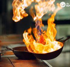 Flamear y flambear. Diferencias y qué son. Técnicas de cocina