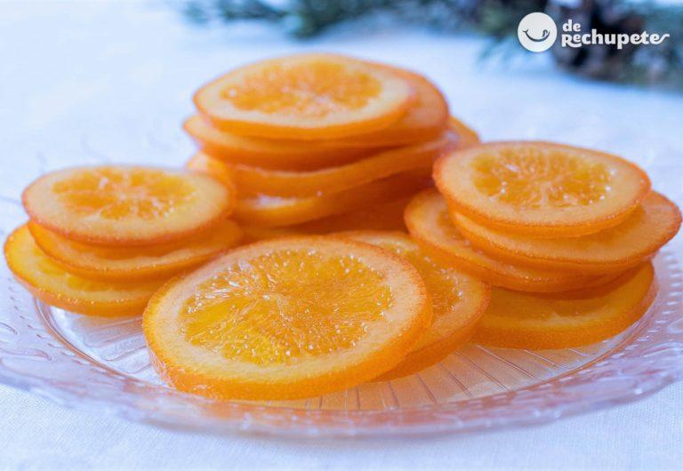 Cómo hacer naranjas confitadas caseras