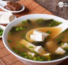 Cómo hacer sopa de miso. Receta japonesa