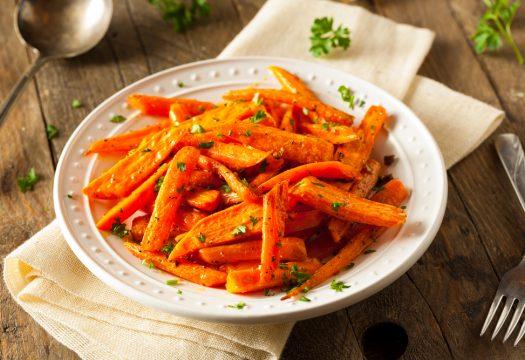 Palitos de zanahoria al horno