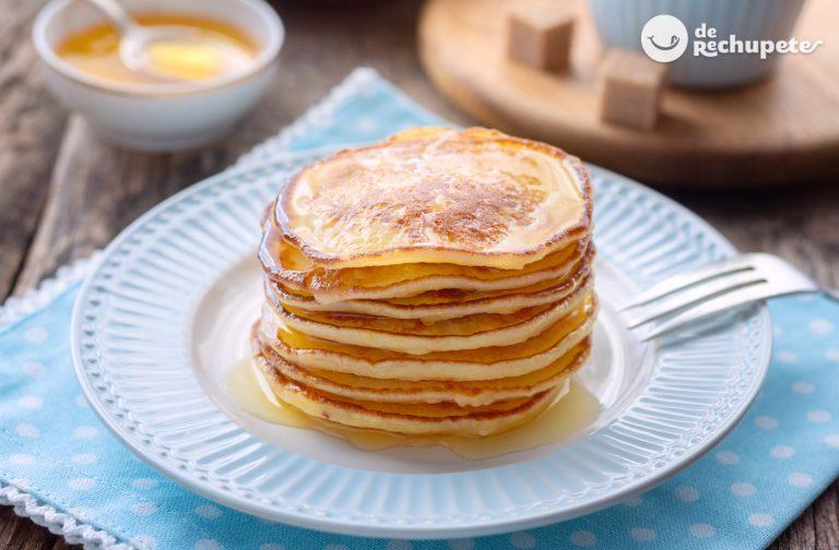 Pancakes, pancaques o panqueques. Receta fácil que siempre sale bien