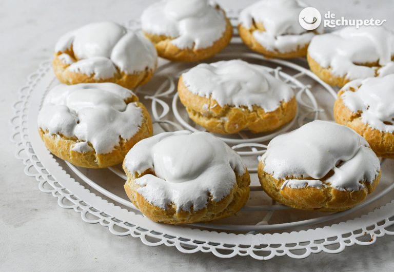 Roscas o rosquillas huecas. Dulce de convento