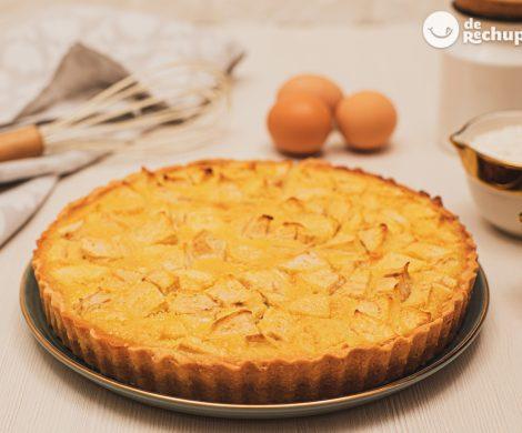 Tarta de manzana de Normandía. Receta francesa