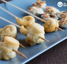 Lenguado a la madrileña con almejas. Receta de pescado fácil, rápida y muy sabrosa