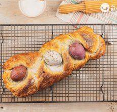 Pan de Pascua o Tsoureki. Postre griego de Semana Santa