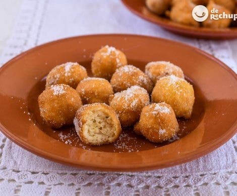 Papajotes. Dulce tradicional de Jaén