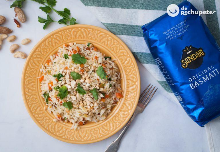Cómo hacer arroz al estilo hindú. Receta de arroz exótica y fácil