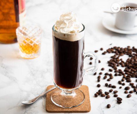 Cómo hacer un café irlandés. Receta del auténtico cóctel Irish coffee