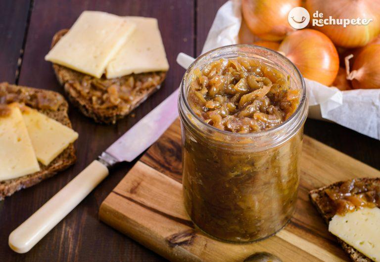 Cebolla caramelizada express o rápida. Trucos de cocina, azúcar, bicarbonato, microondas o THx