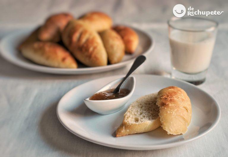 Pan de Viena casero. Receta de panecillos dulces paso a paso