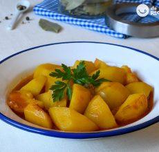 Cómo hacer patatas viudas. Receta fácil, barata y deliciosa con patatas