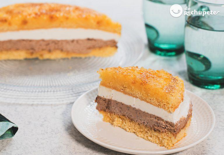 Tarta Massini clásica. Receta casera y tradicional paso a paso