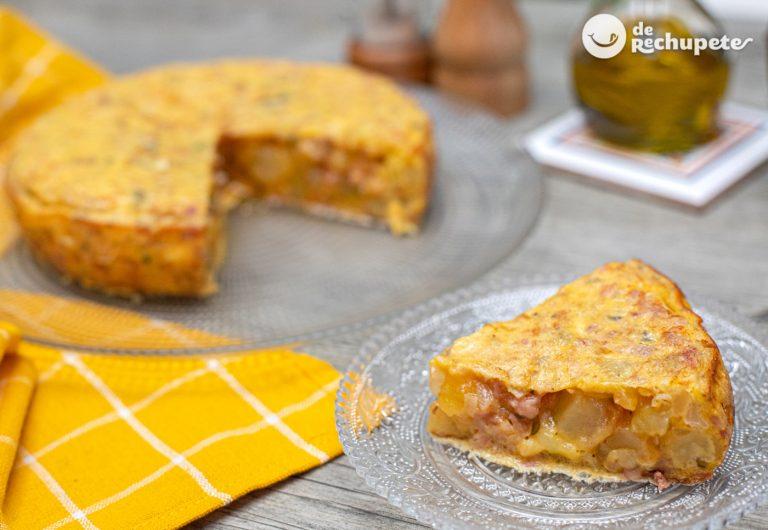 Tortilla catalana con butifarra
