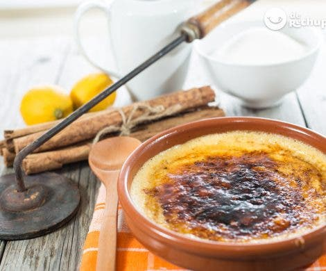 Caramelizar crema catalana u otros postres sin soplete. Trucos de rechupete