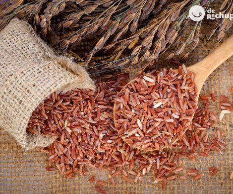 El arroz rojo. Propiedades, beneficios y cómo cocinarlo