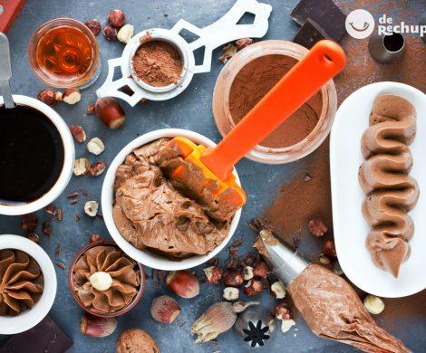 Buttercream, mantequilla o betún de Nutella