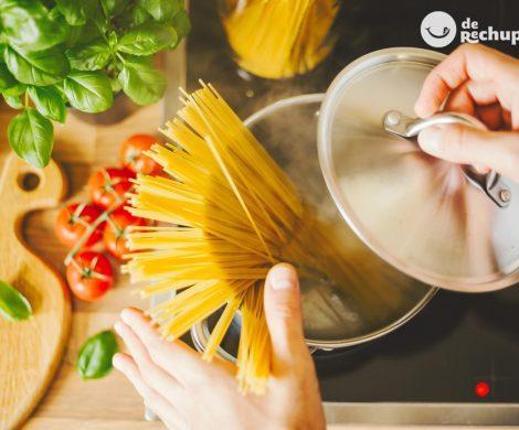 Preparar los espaguetis, como si fueras italiano