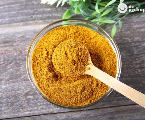 Cómo hacer curry amarillo en polvo casero