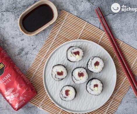Cómo hacer maki sushi y nigiri de atún