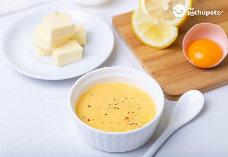Cómo hacer salsa holandesa casera. Receta paso a paso con trucos y consejos