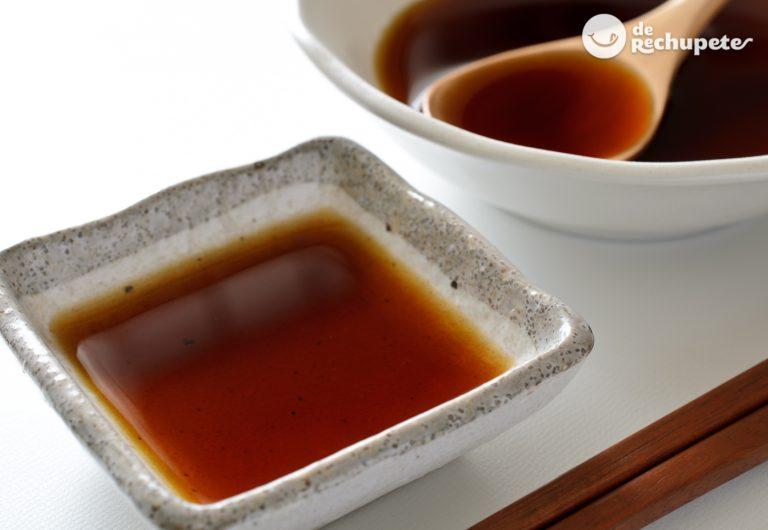 Salsa Ponzu. Receta de la vinagreta japonesa