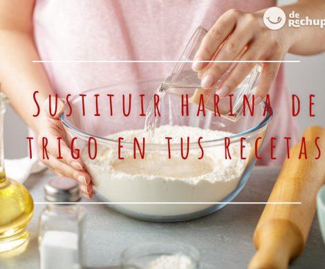 Cómo sustituir harina de trigo en tus recetas. Equivalentes para cambiar una por otro tipo