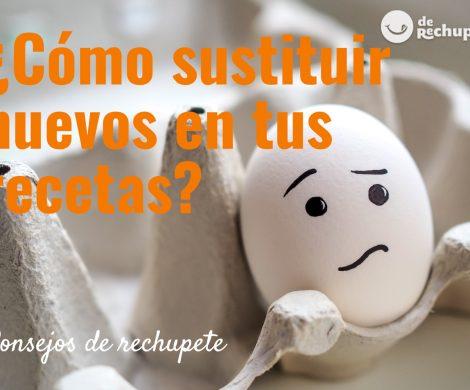 ¿Cómo sustituir el huevo en una receta?