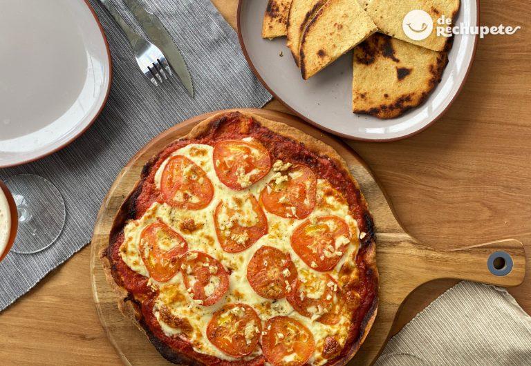 Cómo hacer una masa de pizza sin gluten con harina de garbanzos. Fainá