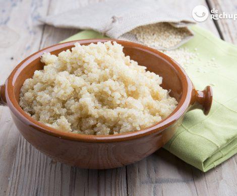Cómo cocinar correctamente la quinoa. Consejos para que te quede deliciosa