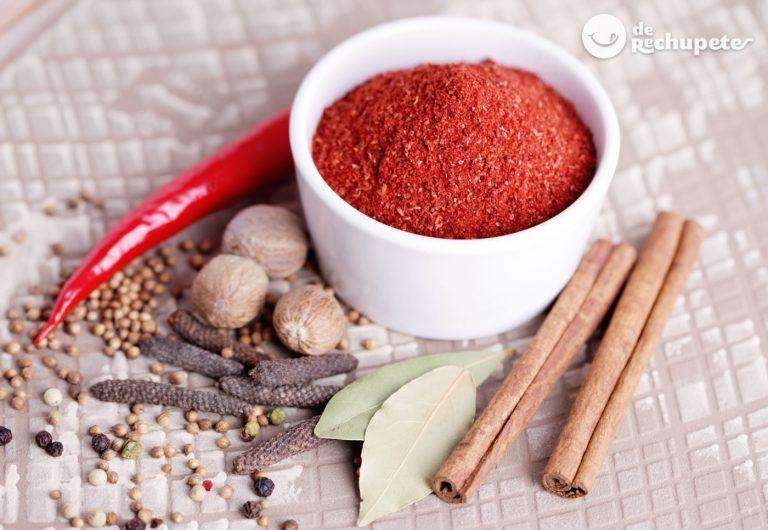 Tandoori masala ¿Qué es y cómo se hace? Propiedades y usos en la cocina