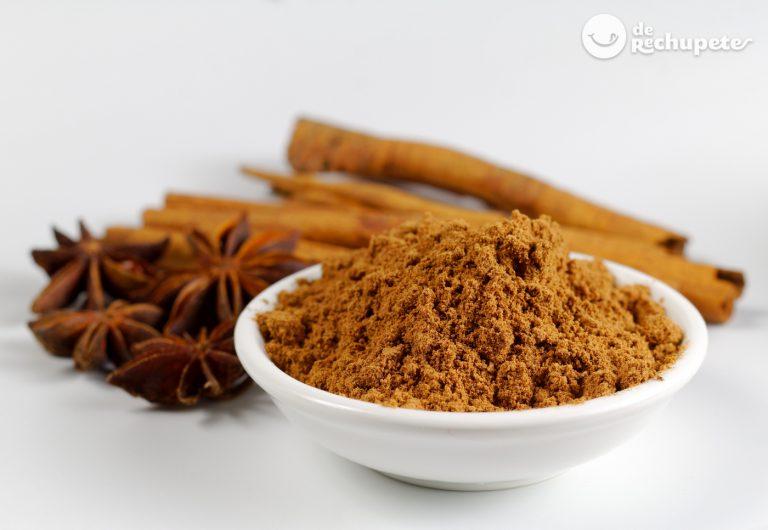 Polvo de cinco especias chinas ¿Qué es y cómo se hace?