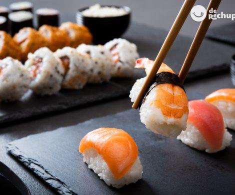 Sushi. Consejos para hacer sushi casero cómo un profesional. Tipos y recetas